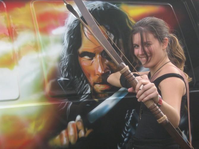 La nostra a Hobbiton 2008